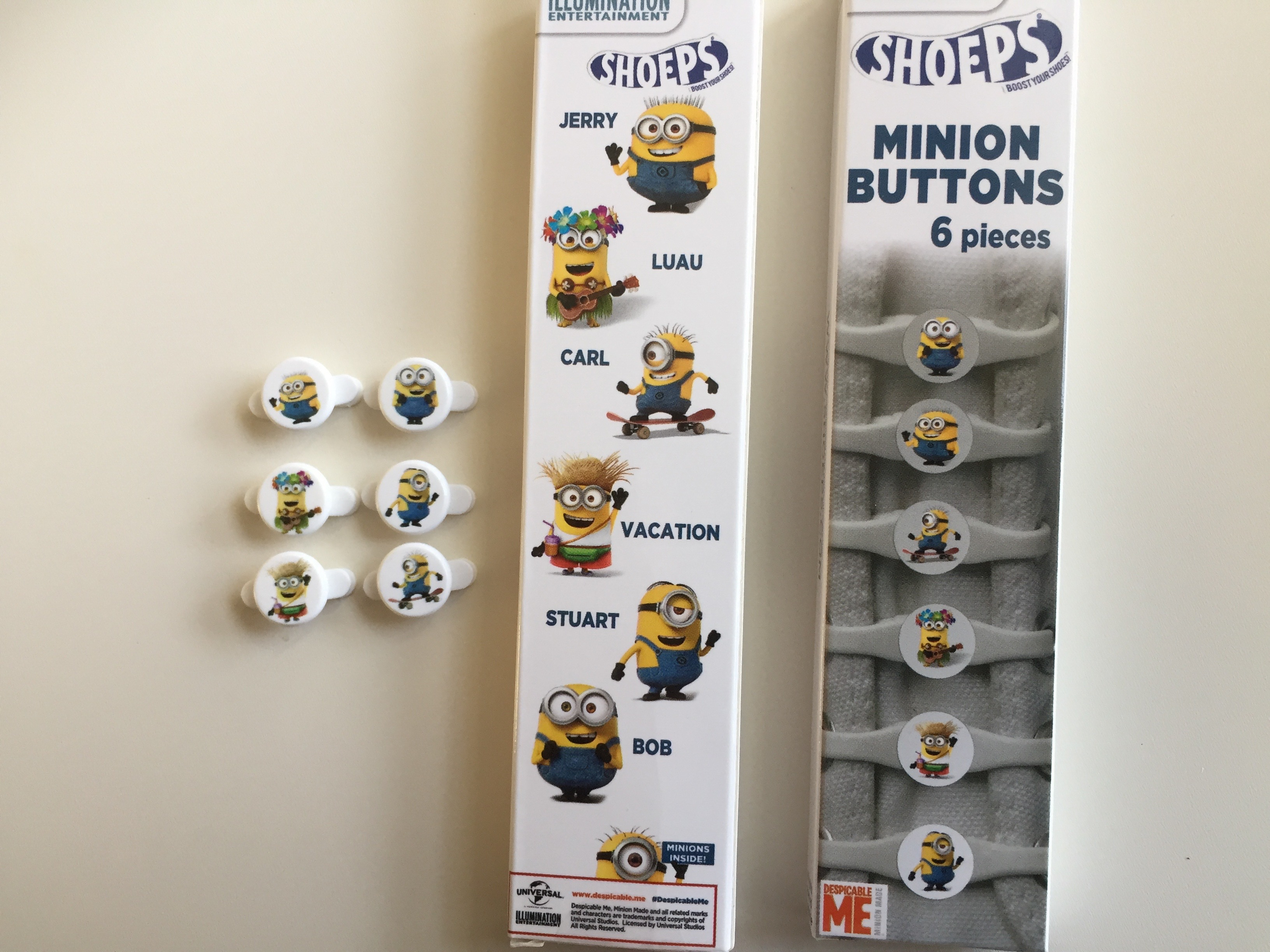 | MINION BUTTONS