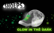 SHOEPS GLOW IN THE DARK 8 STUKS