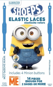 SHOEPS MINION BANANA BLUE 14 STUKS