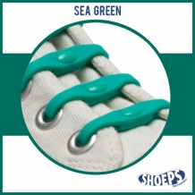 SHOEPS SEA GREEN 14 STUKS
