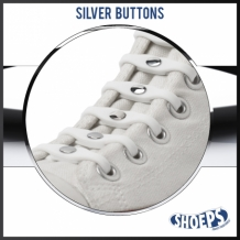 SHOEPS SILVER BUTTON LIMITED EDITION 14 STUKS