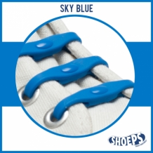 SHOEPS SKY BLUE 14 STUKS